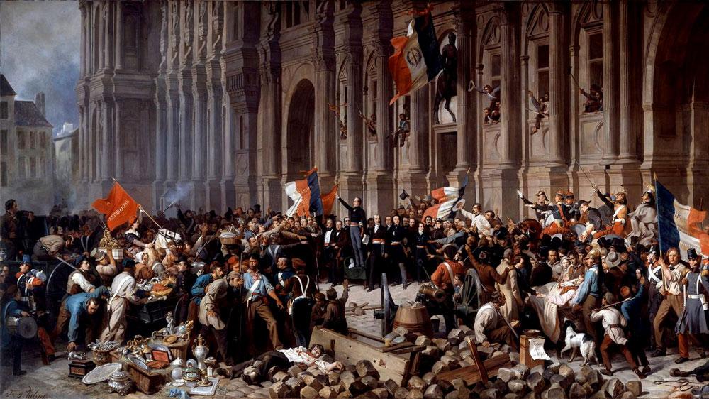 Uprisnig in Paris
