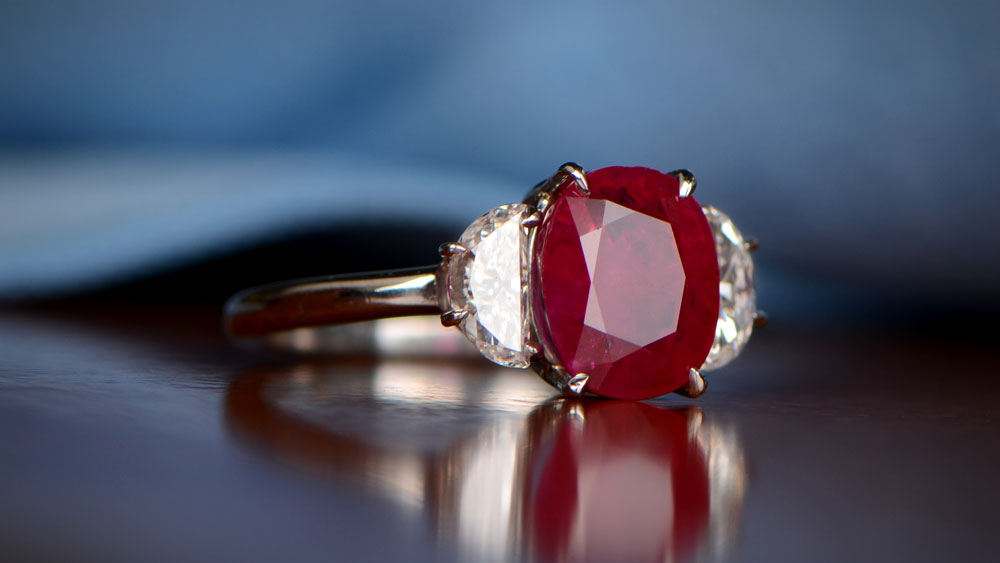 Burma Ruby Investment Ring