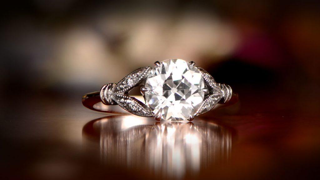 Diamond Engagement Ring Lyon Ring