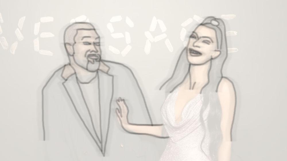 Kim and Kanye History