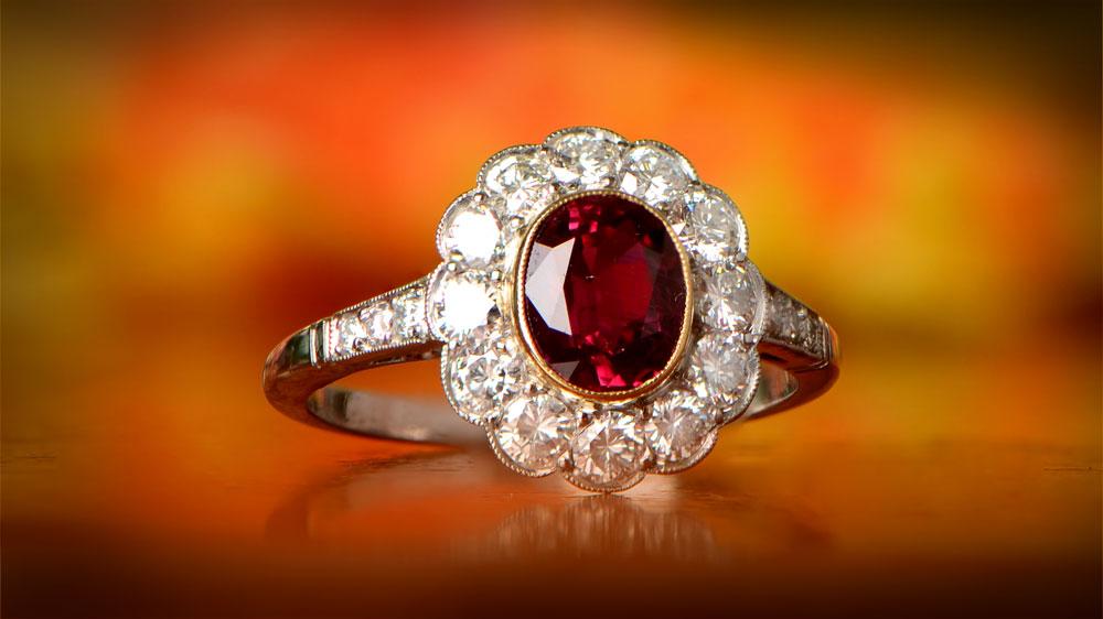 Tyne Filigree Ring