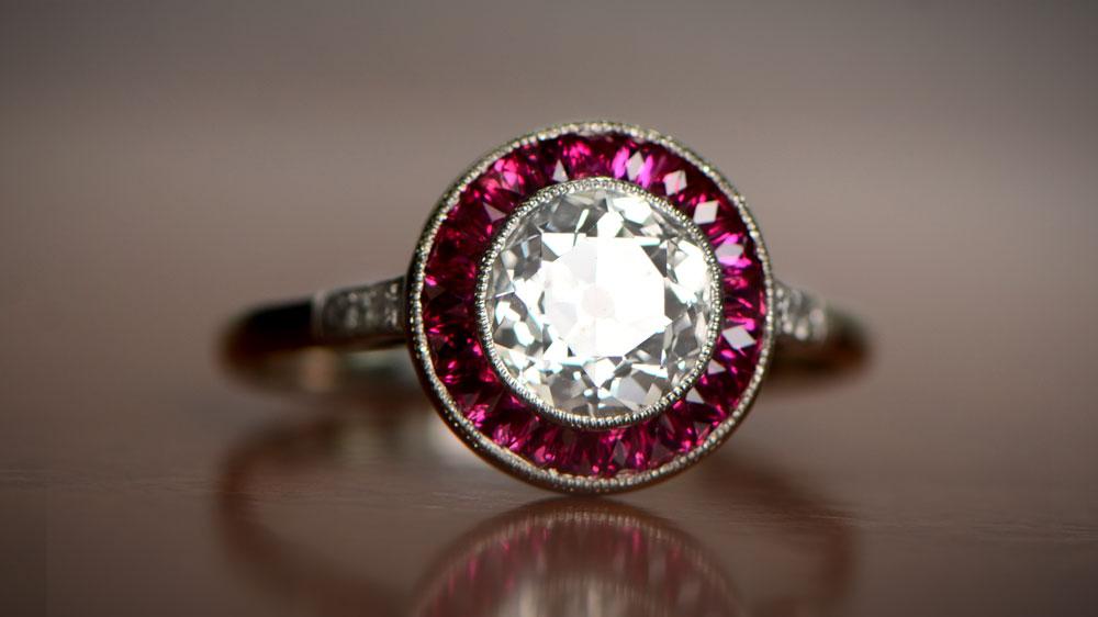 Undergallery Filigree Ring
