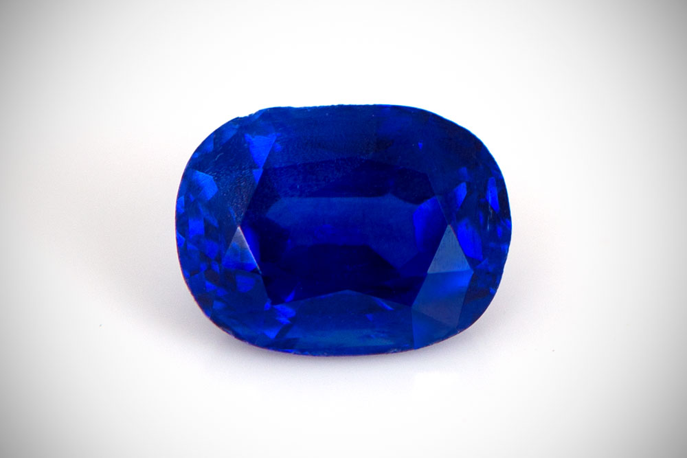 Loose Kashmir Sapphire Stone