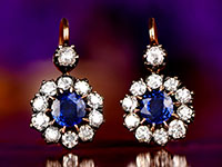 Vintage Earrings by Estate Diamond Jewelry