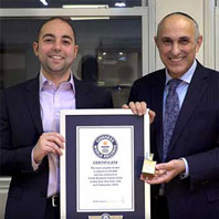 Guinness World Records Title for Estate Diamond Jewelry