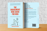 The Engagement Ring Guide for Men Promotional Mockup Graphic