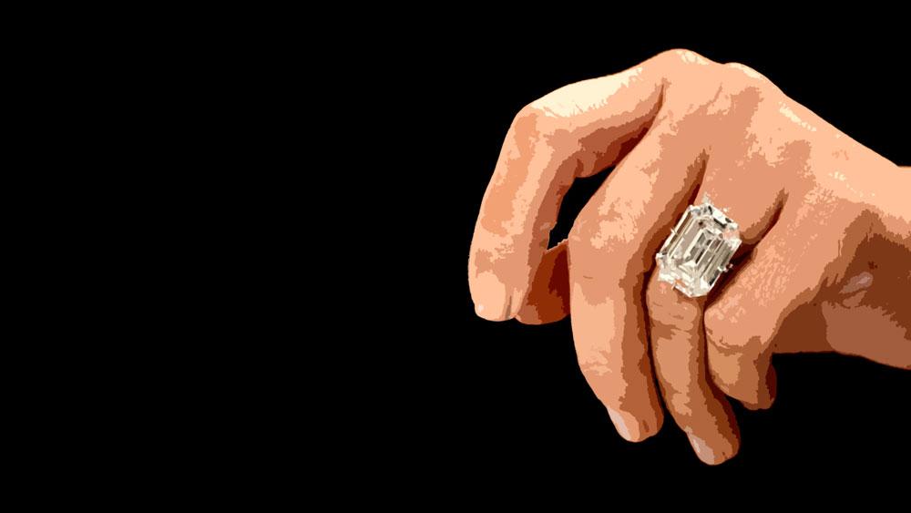 Kim Kardashian Emerald Cut Engagement Ring