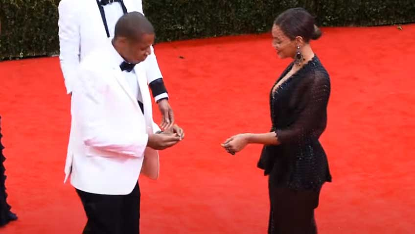 Jay Z and Beyonce Ring Proposal