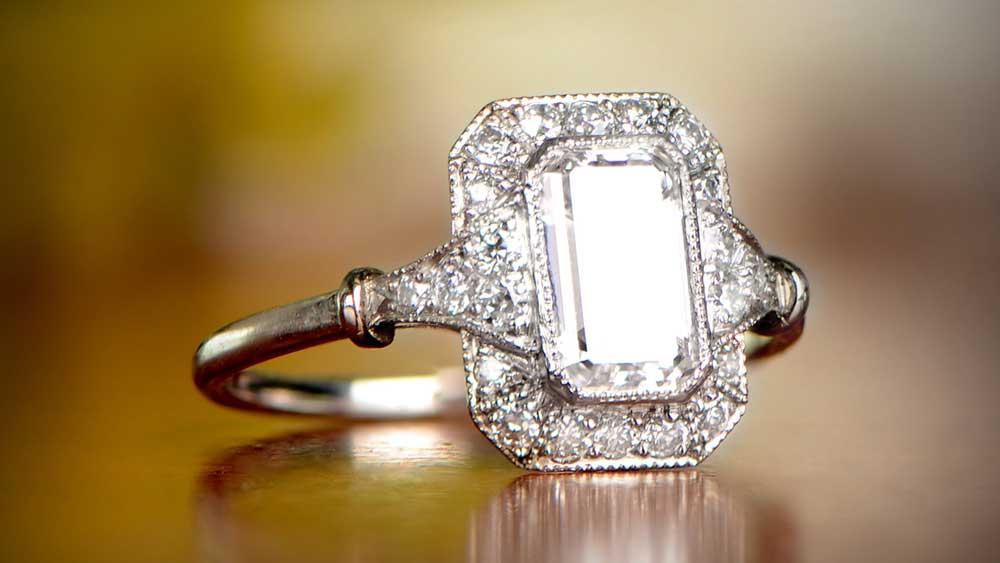 Midhust Ring from Estate Diamond Jewelry
