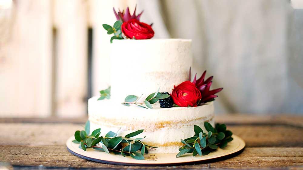 Wedding Cake at New York City Wedding