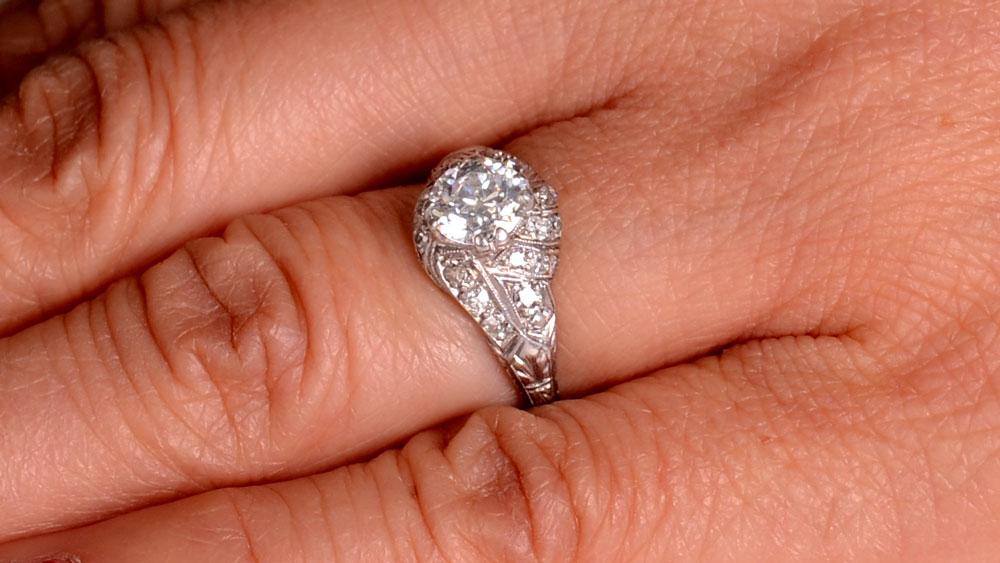 12607 Platinum Ring