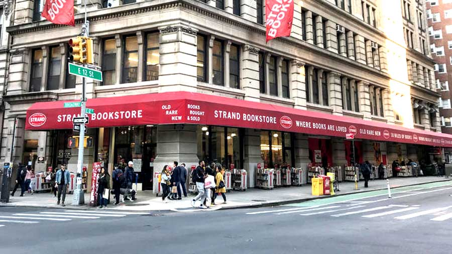 The Strand Bookstore in New York
