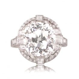 Lawrence 5 Carat Old European Cut Diamond Ring TV 12964