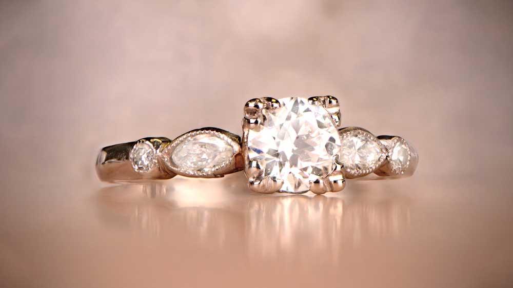 12326-Vintage Engagement Ring Artistic