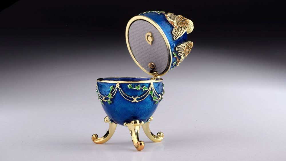 Faberge Egg Ring Box