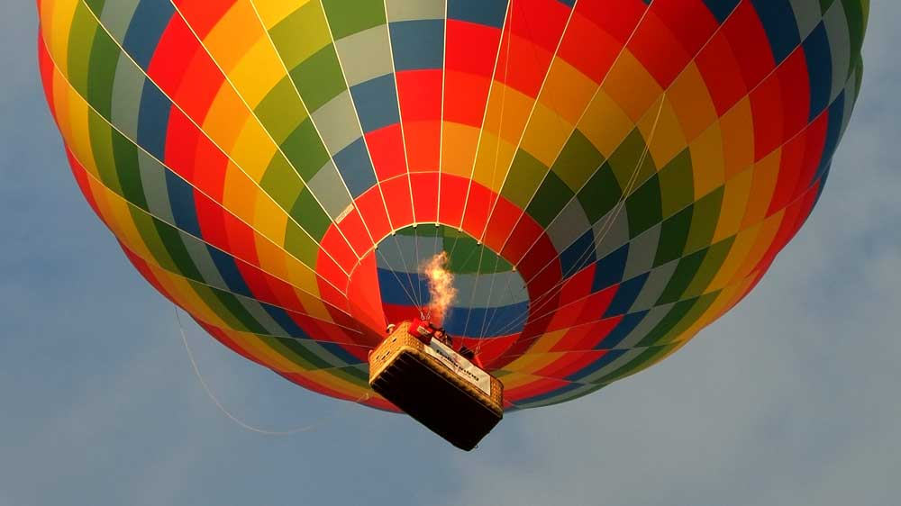 Hot Air Balloon Romantic Gift for Anniversary