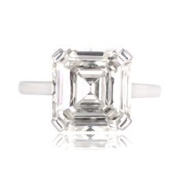 5.90ct Spaulding Ring Top View