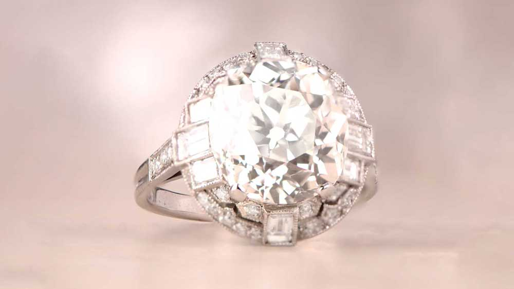 BLOG 12964-Artistic 6 Carat Diamond Ring